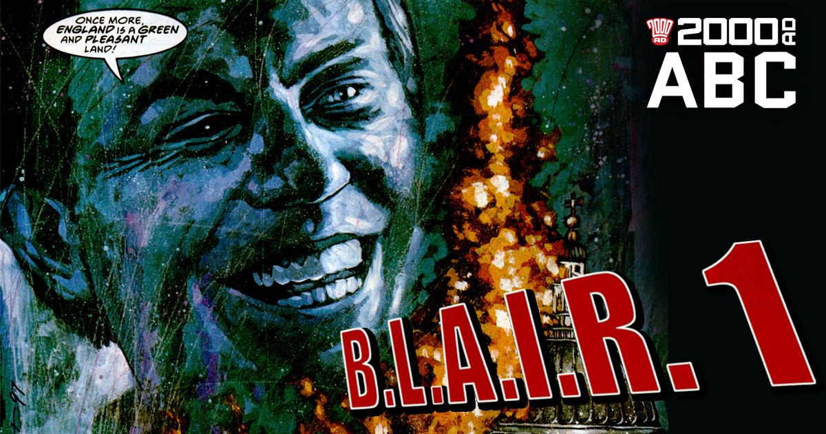 The 2000 AD ABC: B.L.A.I.R.1