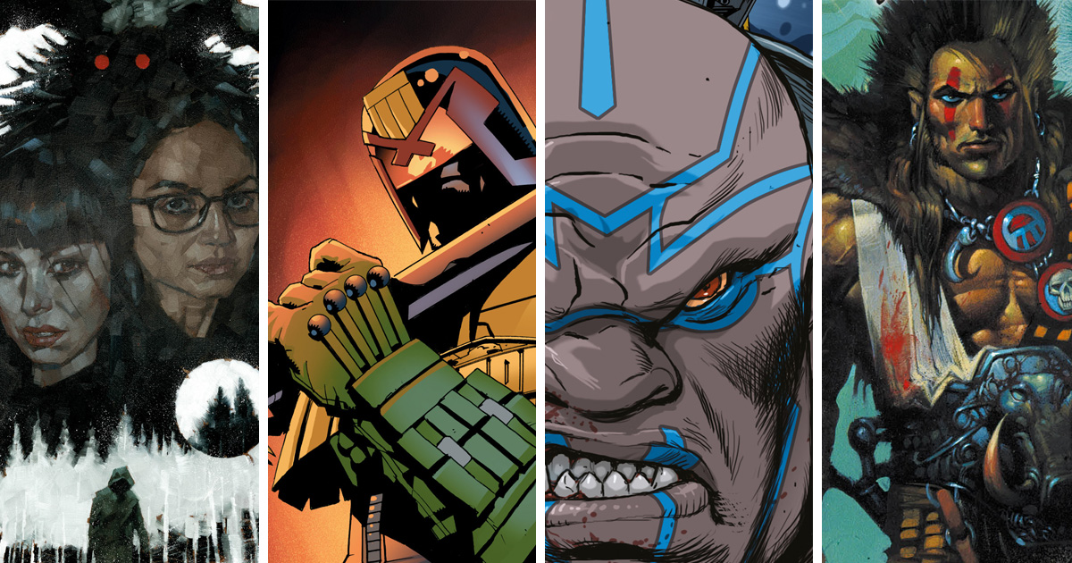 Welcome to the future - 2000 AD unveils its graphic novels for 2020!