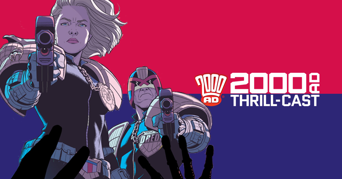 The 2000 AD Thrill-Cast: The Best of 2000 AD with Jamie McKelvie and Becky Cloonan