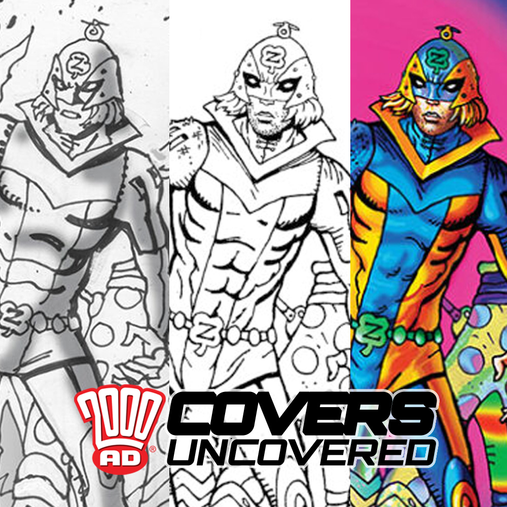 2000 AD Covers Uncovered – It's Pantemonium in Zaucer Of Zilk