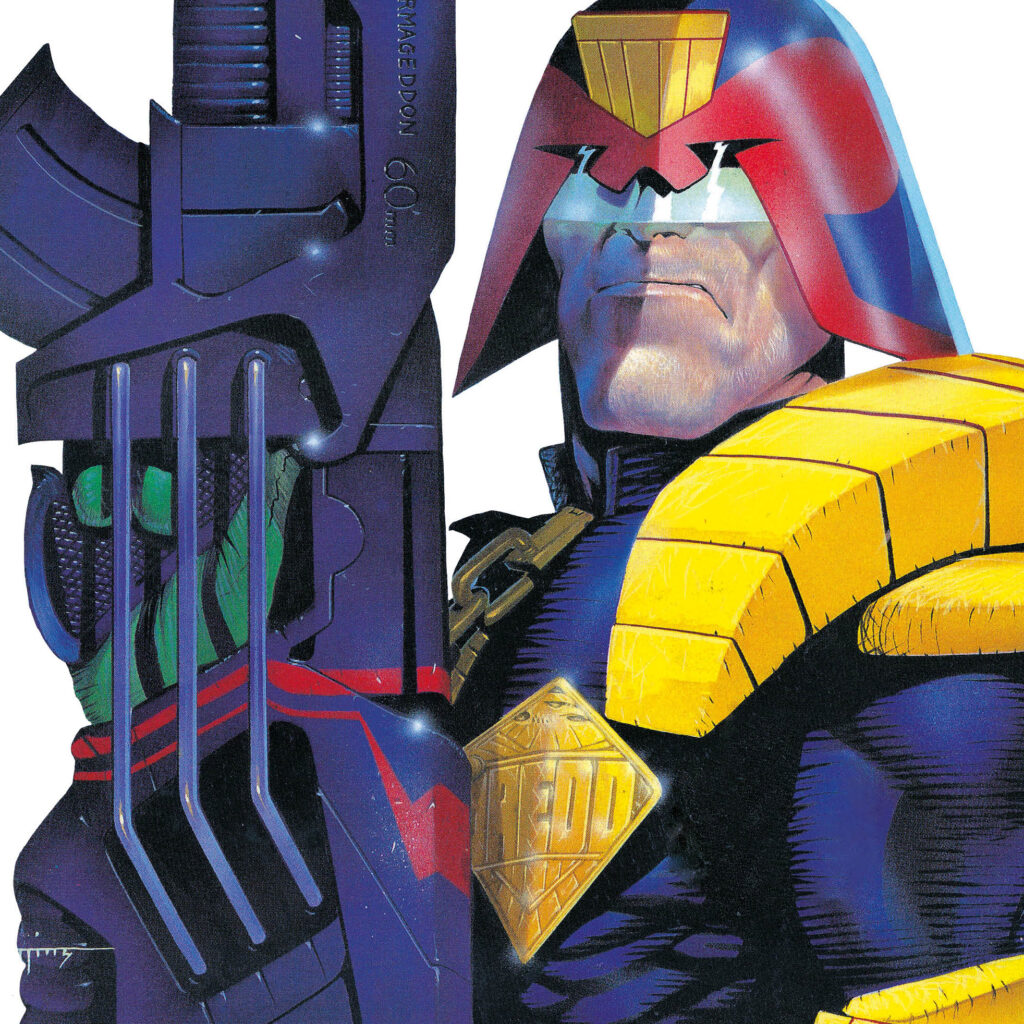 'Essential Judge Dredd' graphic novel line launches in September