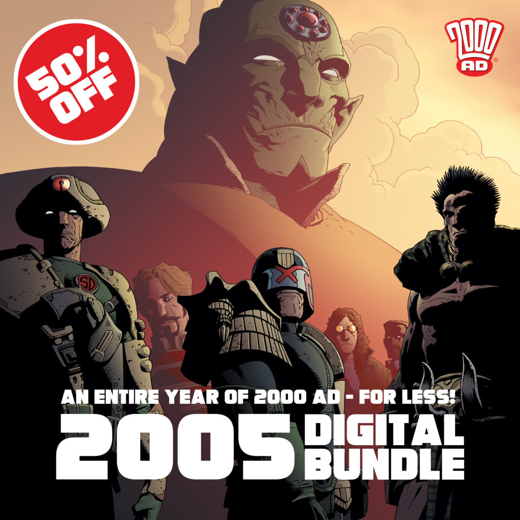 Half off the 2005 Digital 2000 AD Collection!