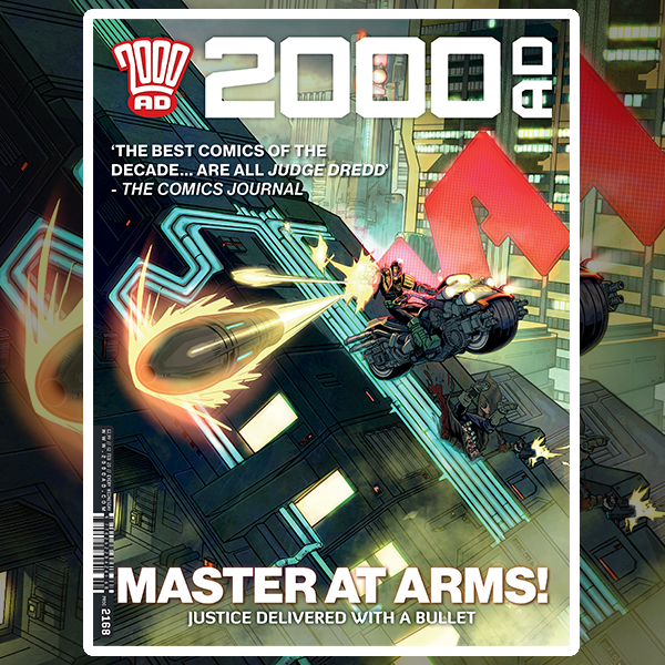 OUT NOW: 2000 AD Prog 2168