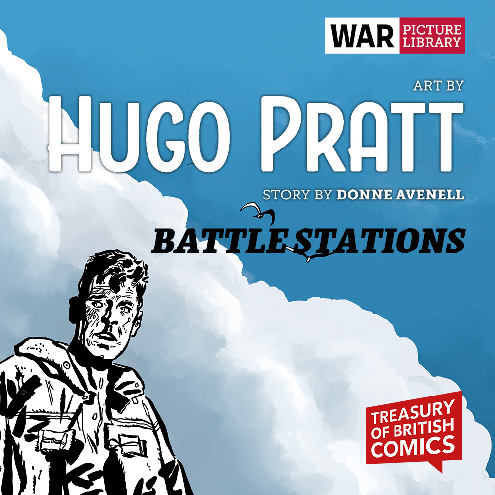 OUT NOW: Hugo Pratt's Battle Stations