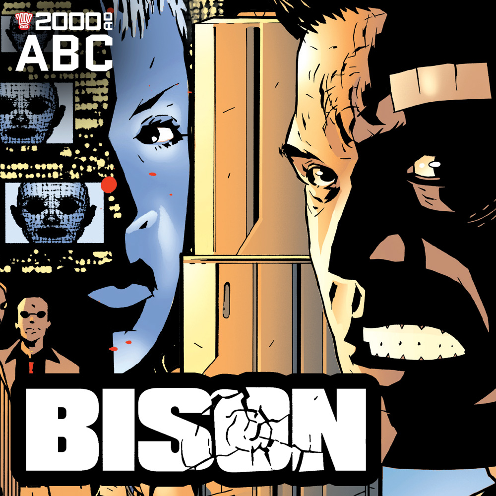 The 2000 AD ABC: Bison