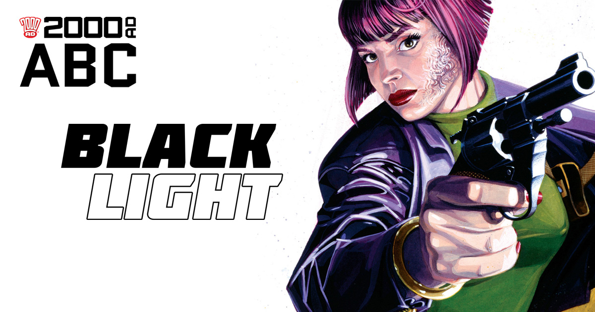 The 2000 AD ABC: Black Light