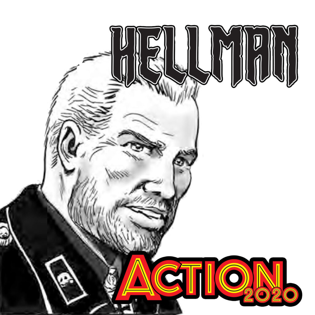 Action 2020 Special – the return of Hellman of Hammer Force by Garth Ennis and Mike Dorey