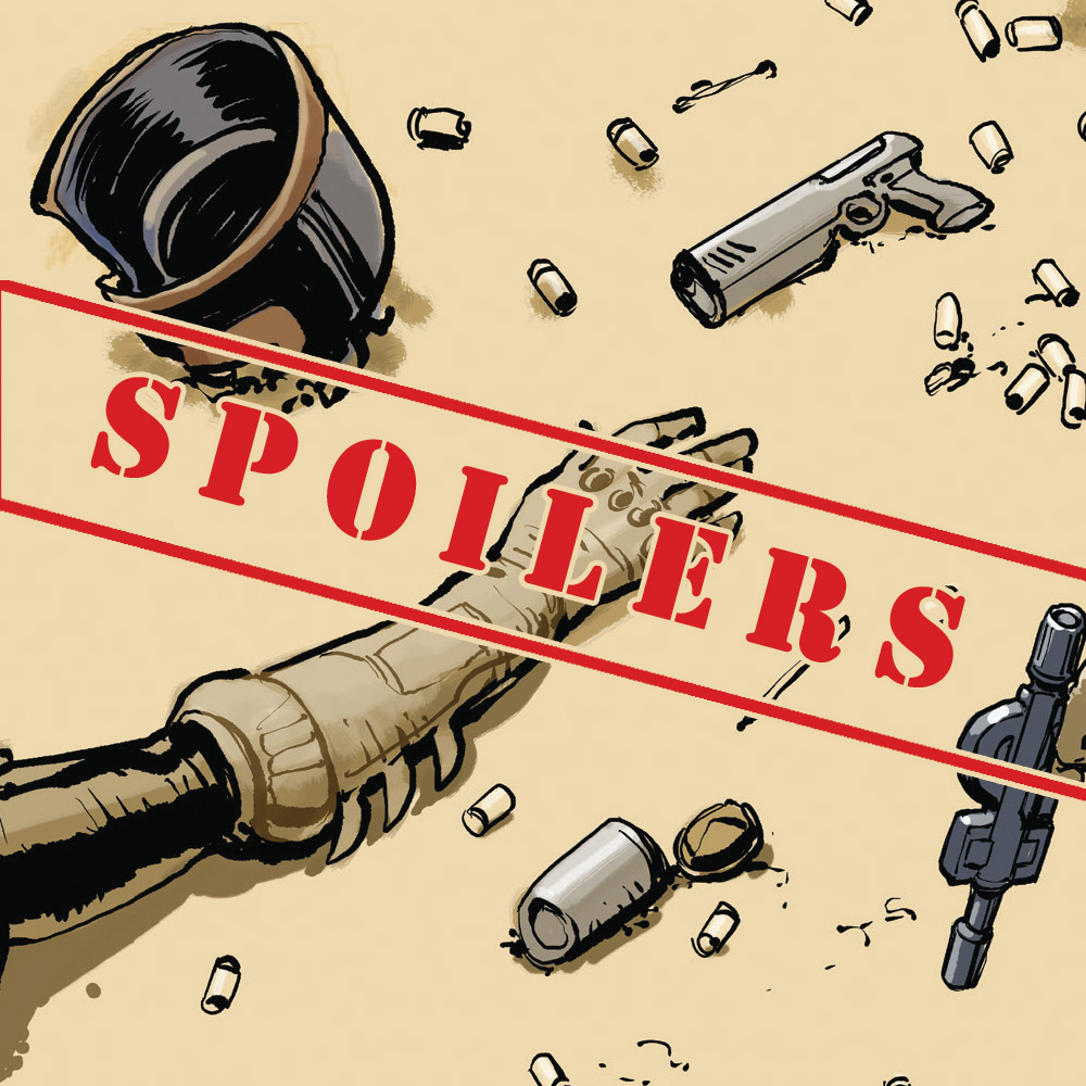 SPOILERS: who's back in 2000 AD Prog 2175?