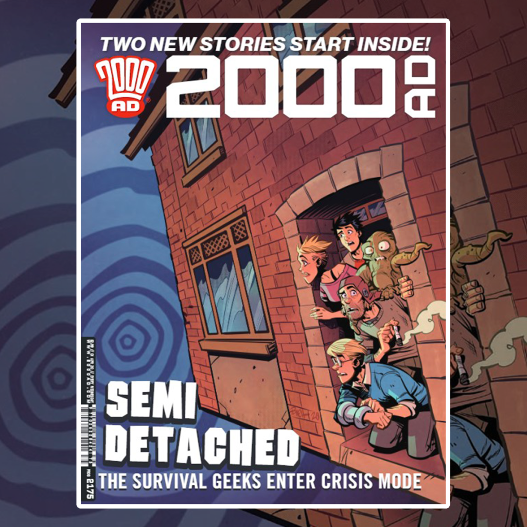 OUT NOW: 2000 AD Prog 2175