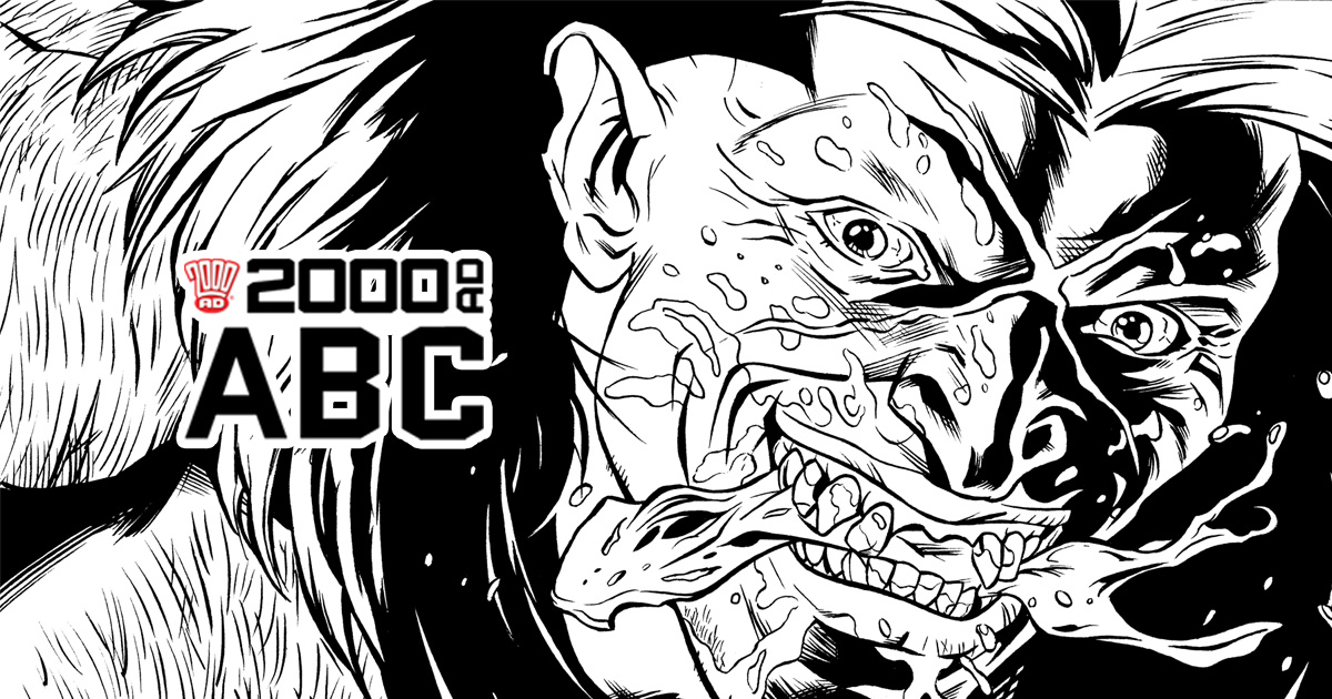 The 2000 AD ABC: Bones of Eden