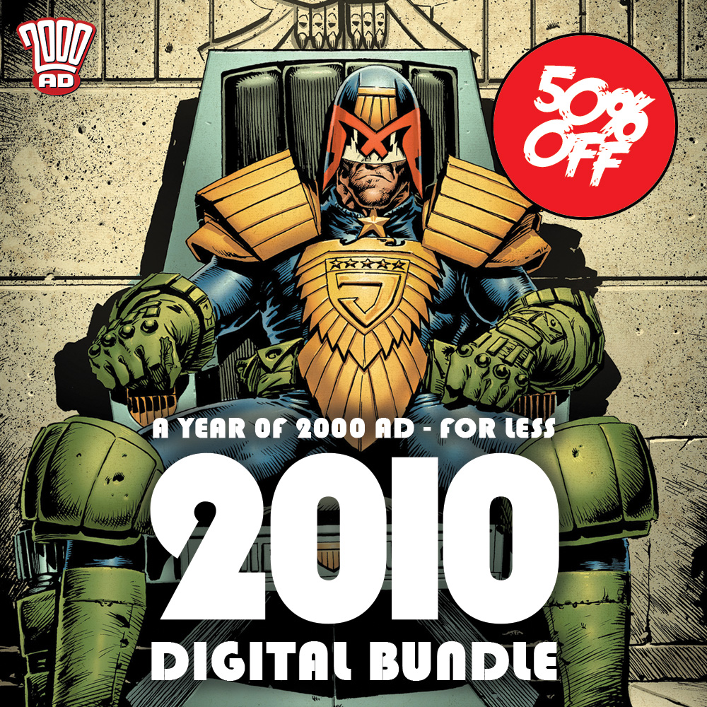 Half off the 2010 Digital 2000 AD Collection!