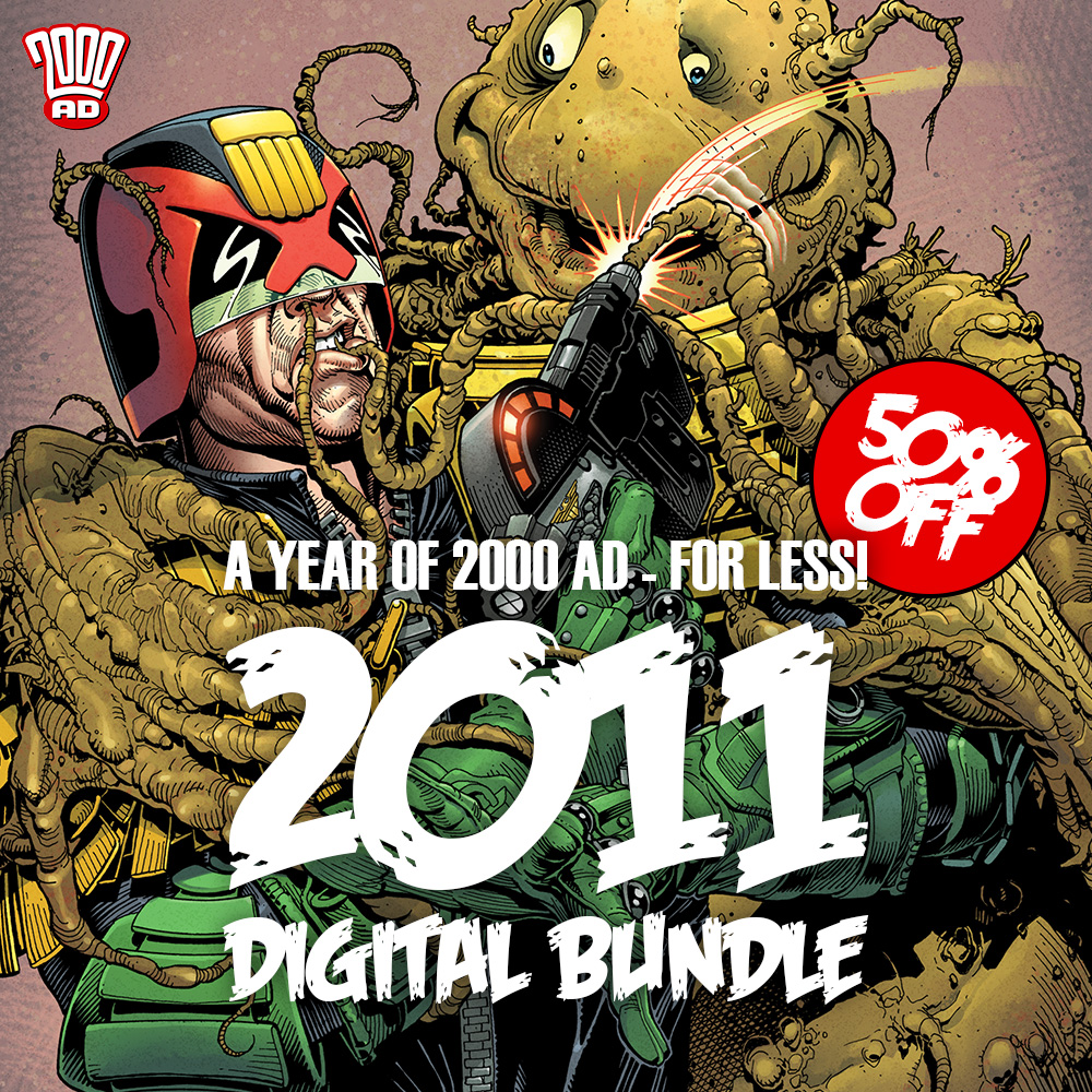 Half off the 2011 Digital 2000 AD Collection!