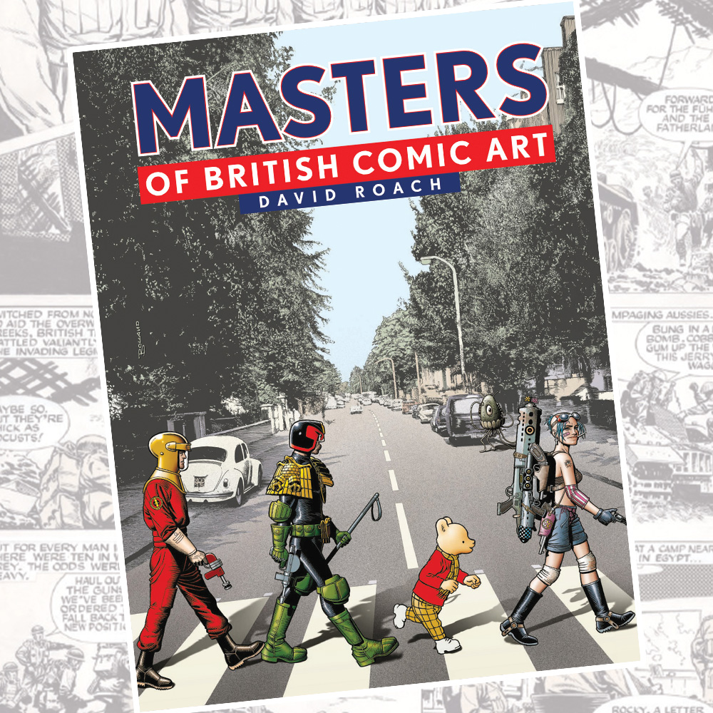 OUT NOW: Masters of British Comic Art