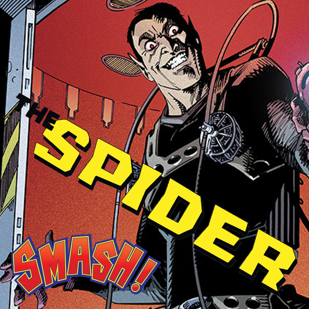 SMASH! – Spinning a tale of The Spider with Rob Williams and John McCrea