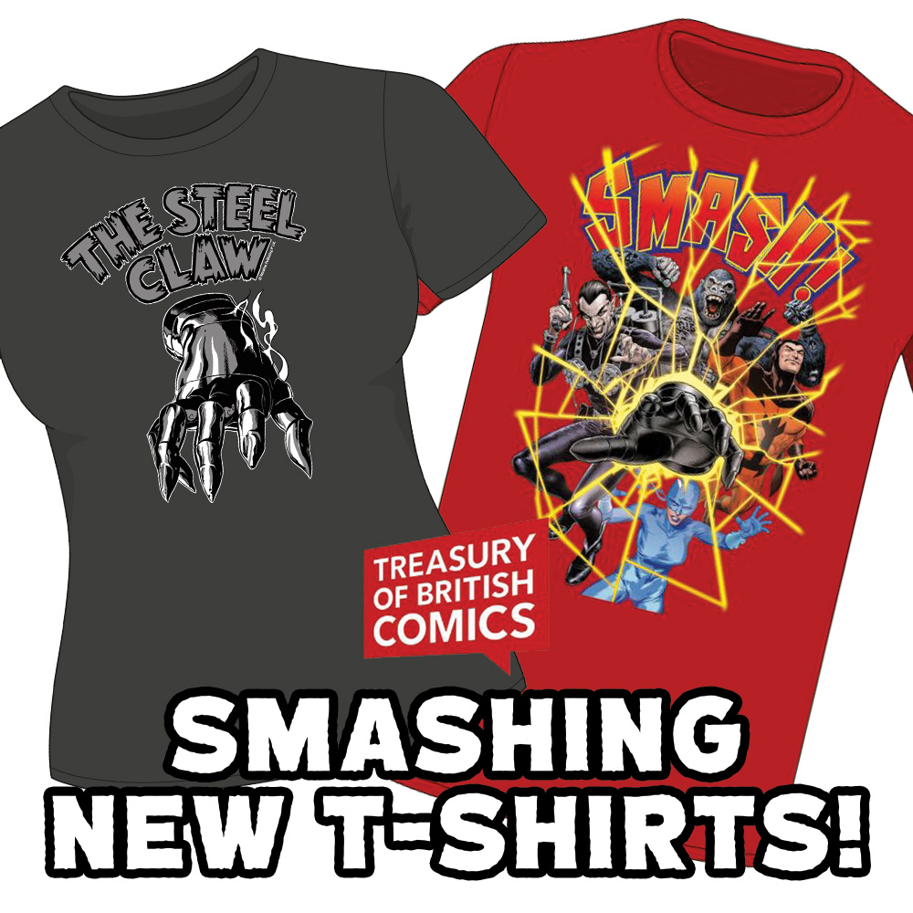 Get these smashing new Smash! T-shirts now!