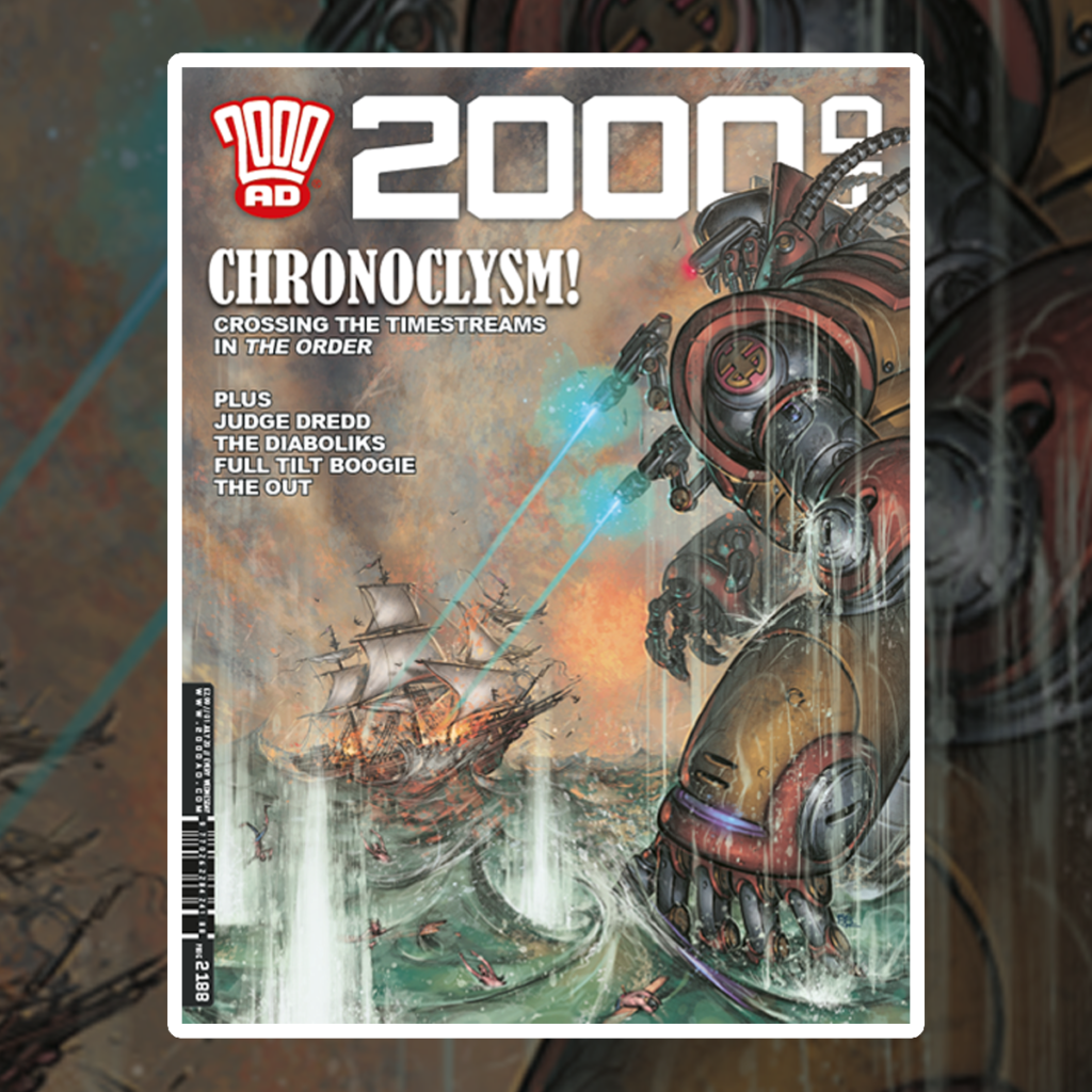 OUT NOW: 2000 AD Prog 2188