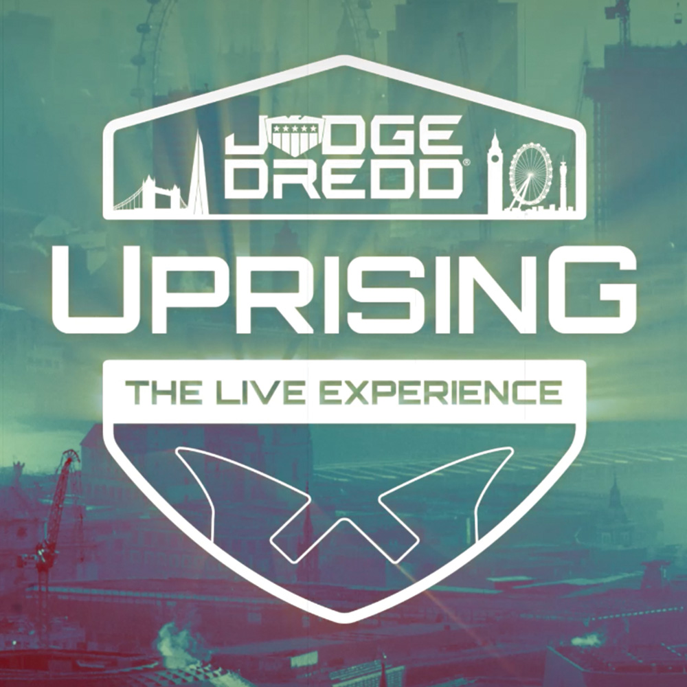 Coming Spring 2021 – Judge Dredd Uprising: The LIVE Experience!