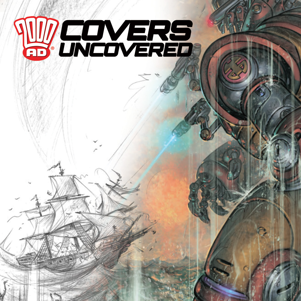 2000 AD Covers Uncovered – It's a 'Turner' of the century cover from Boo Cook!