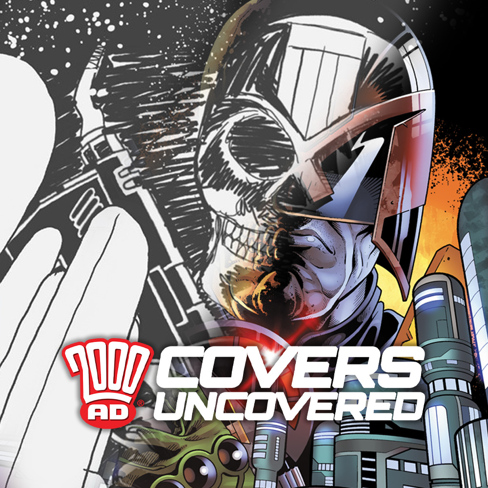 2000 AD Covers Uncovered – Paul Williams on Prog 2199's death from above…