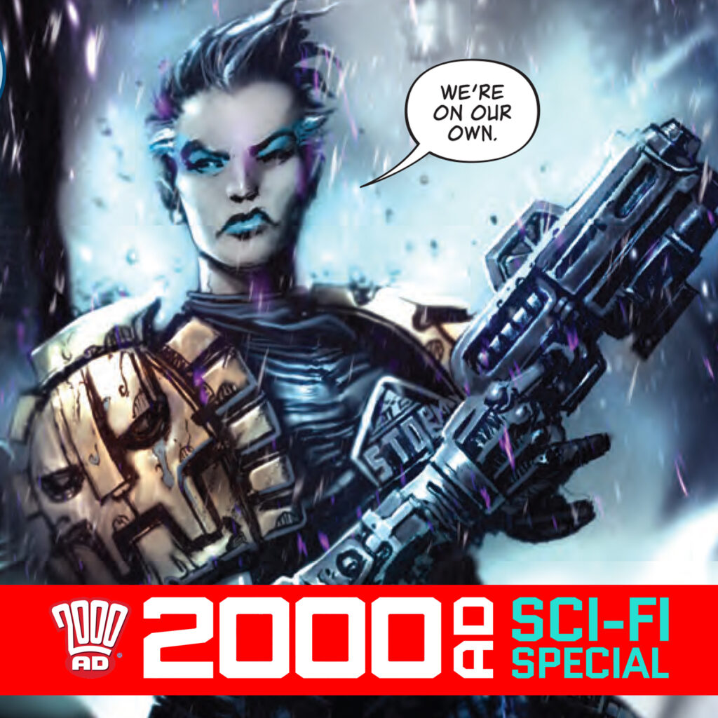2000 AD Sci-Fi Special – John Reppion & Clint Langley talk Black Storm!