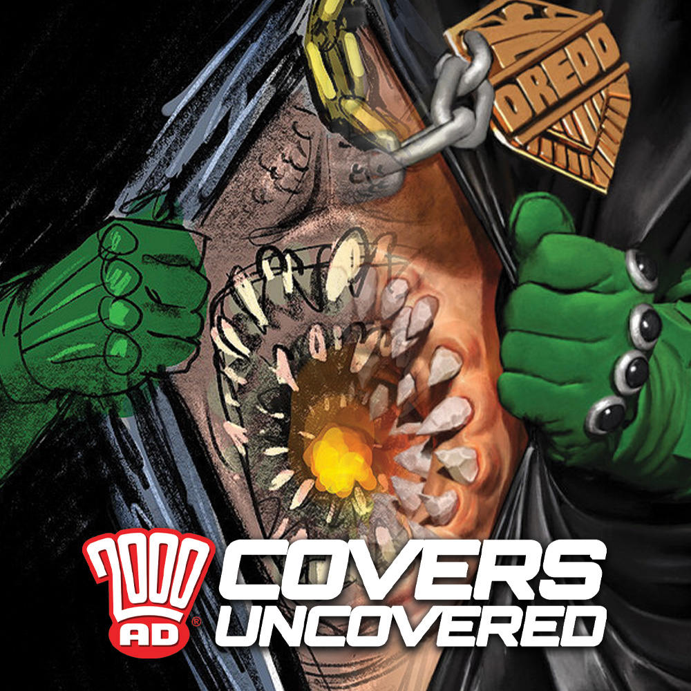 2000 AD Covers Uncovered: Of Clones & Belly Buttons – talking the cover to Prog 2189 with Neil Roberts