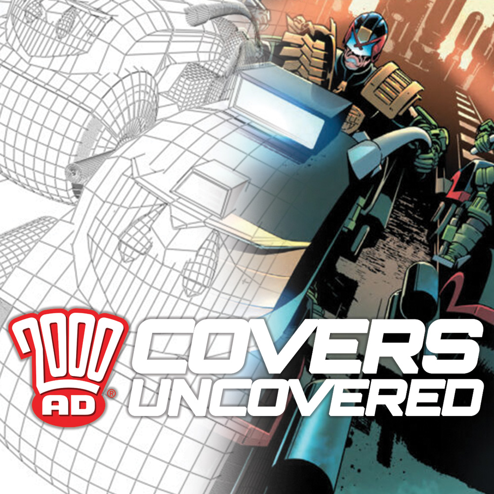 2000 AD Covers Uncovered – Paul Williams covers Megazine #422