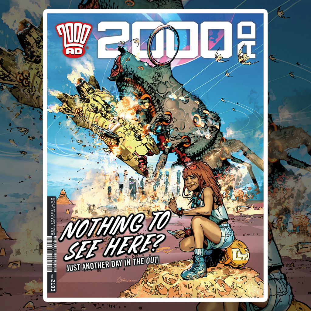 OUT NOW: 2000 AD Prog 2193