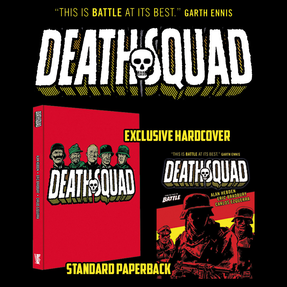 PRE-ORDER NOW: Death Squad!