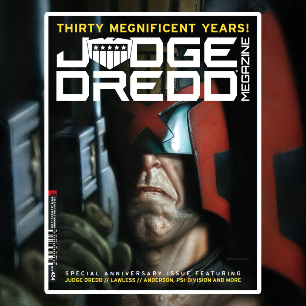 Landmark Judge Dredd Megazine sells out in less than a day
