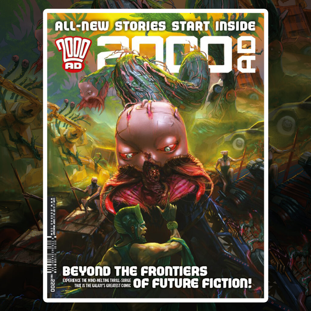Jump on board with 2000 AD Prog 2200!