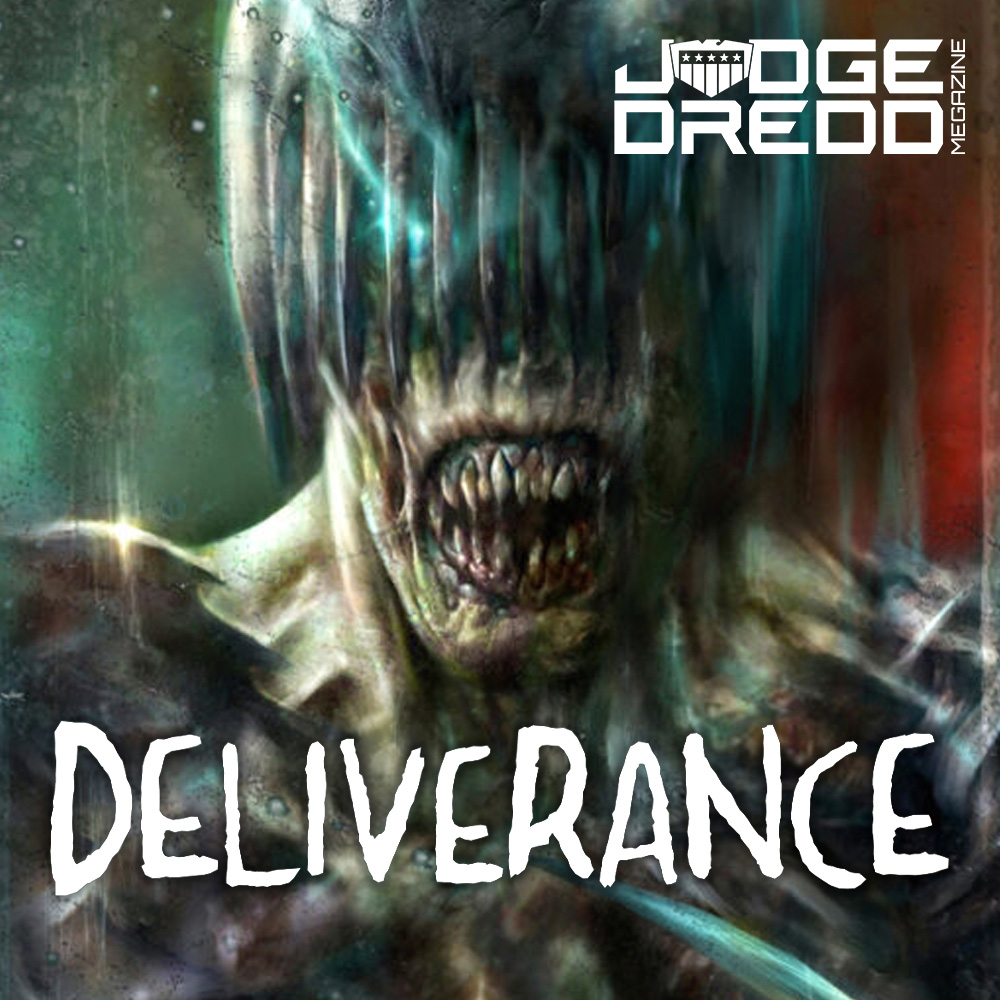 Talking Dark Judgessss and Deliverance with David Hine & Nick Percival