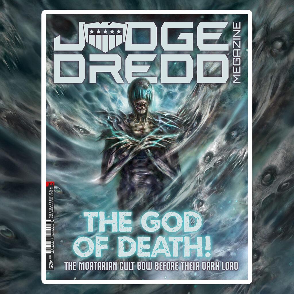 OUT NOW: Judge Dredd Megazine 425