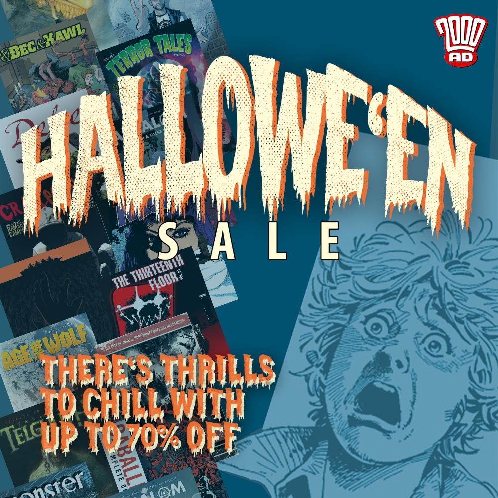 Comic thrills for Hallowe'en chills! Up to 70% off in our sale!