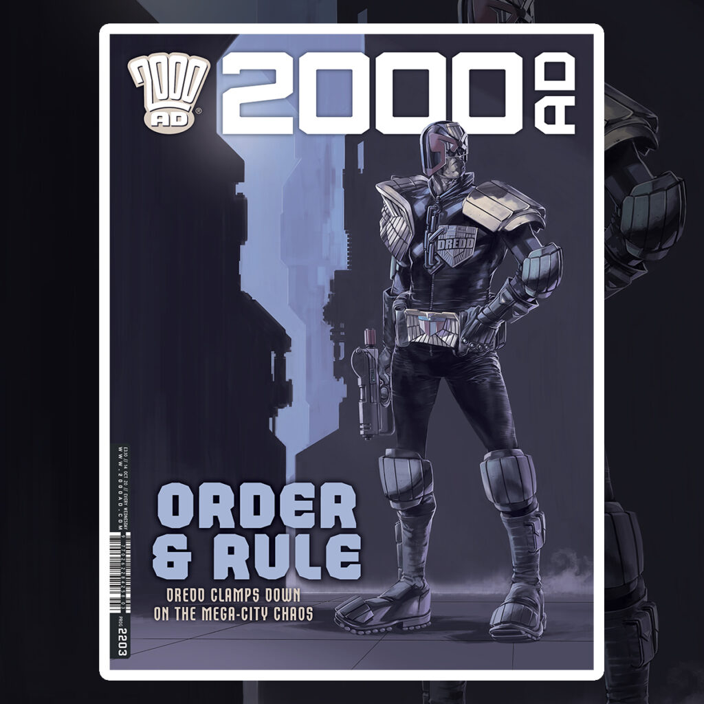 2000 AD Prog 2203 is out now!
