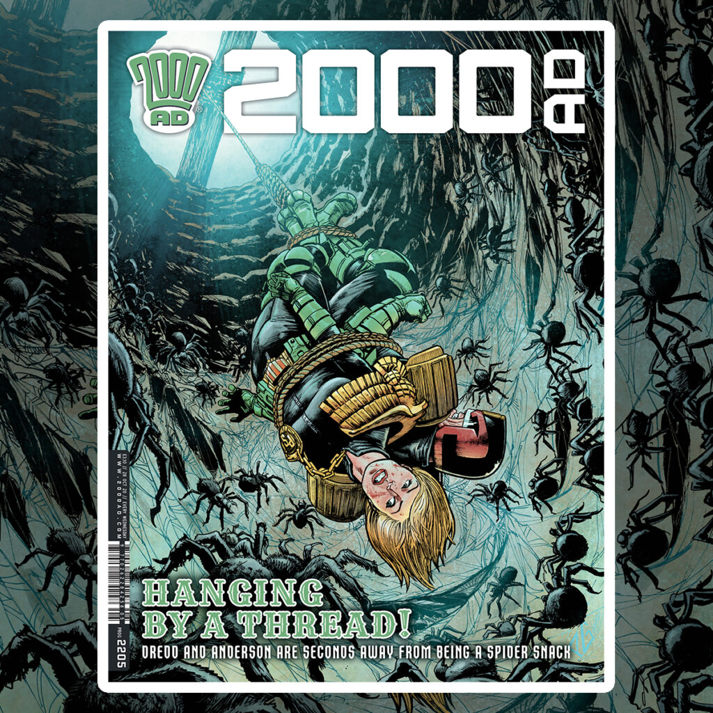 2000 AD Prog 2205 is out now!