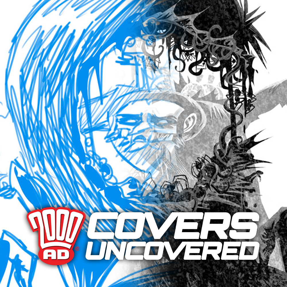 2000 AD Covers Uncovered – D'Israeli's step-by-step guide to the (w)hole cover for Prog 2204!