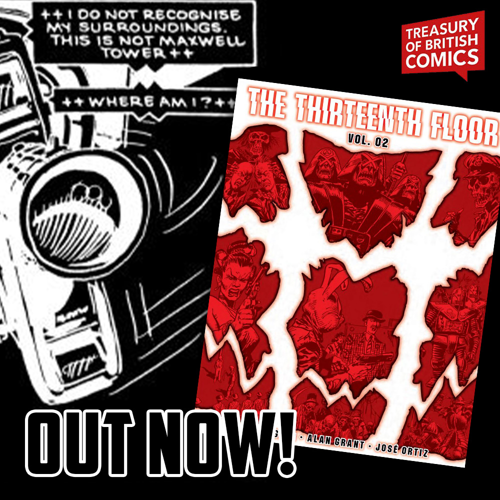 The Thirteenth Floor Vol.2 is out now!