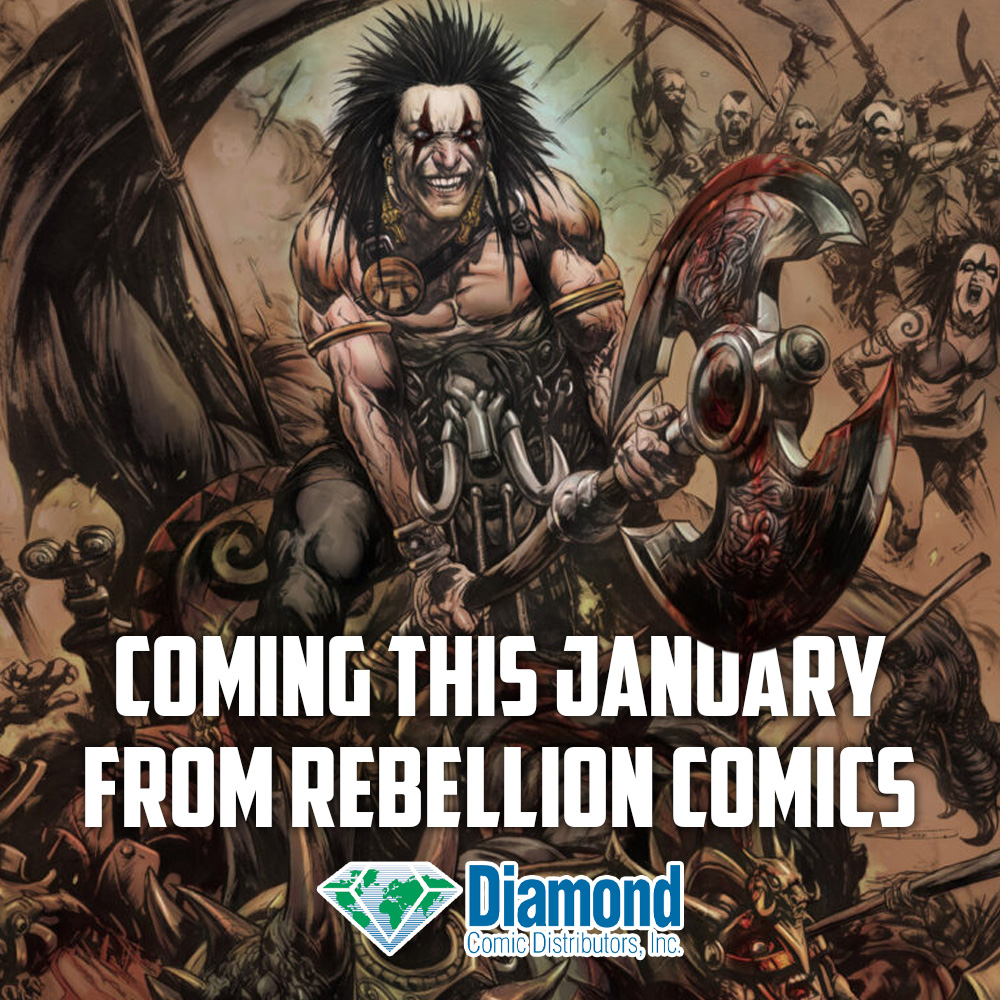 What's coming from Rebellion's comics imprints this January?