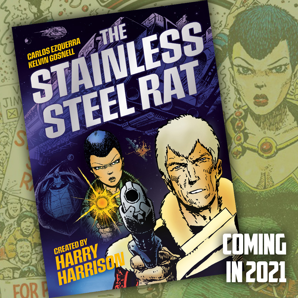 New 'The Stainless Steel Rat' collection planned for 2021