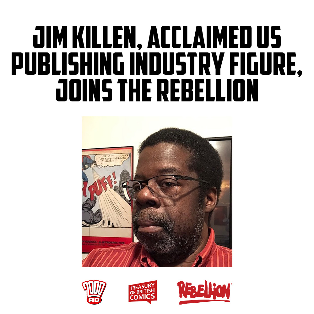 Jim Killen, acclaimed US publishing industry figure, joins the Rebellion
