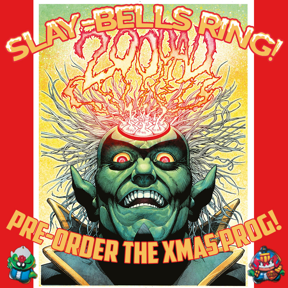 Pre-order the bumper 2000 AD Xmas issue now!