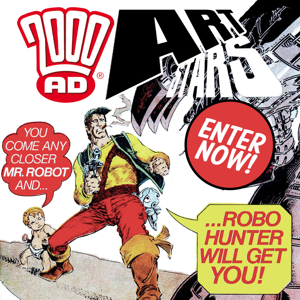 YOU could see your art appear in 2000 AD – enter our competition now!