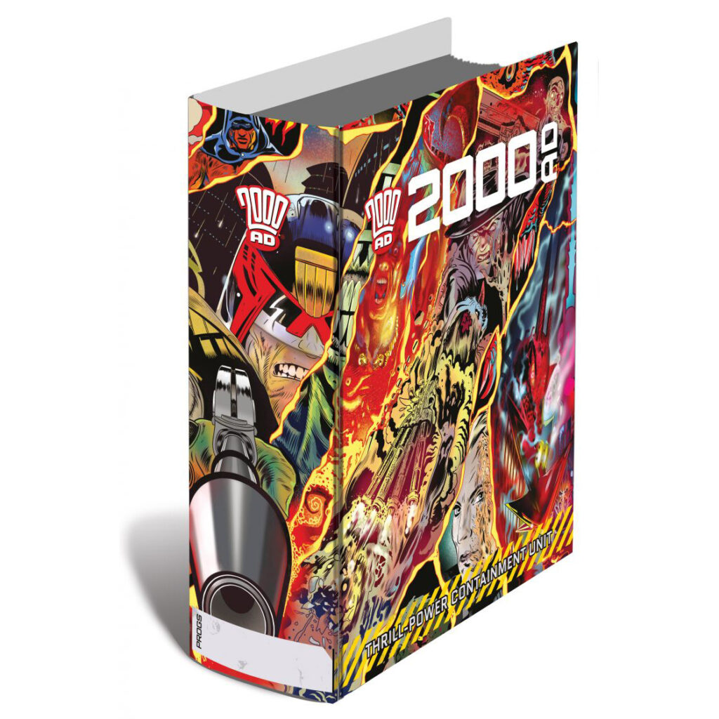 Order the 2000 AD Thrill-Containment Binder now!