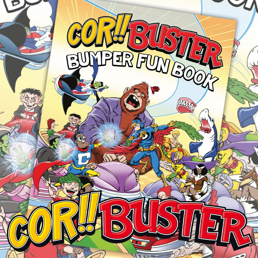 Blimey! It's the Cor!! Buster Bumper Fun Book!