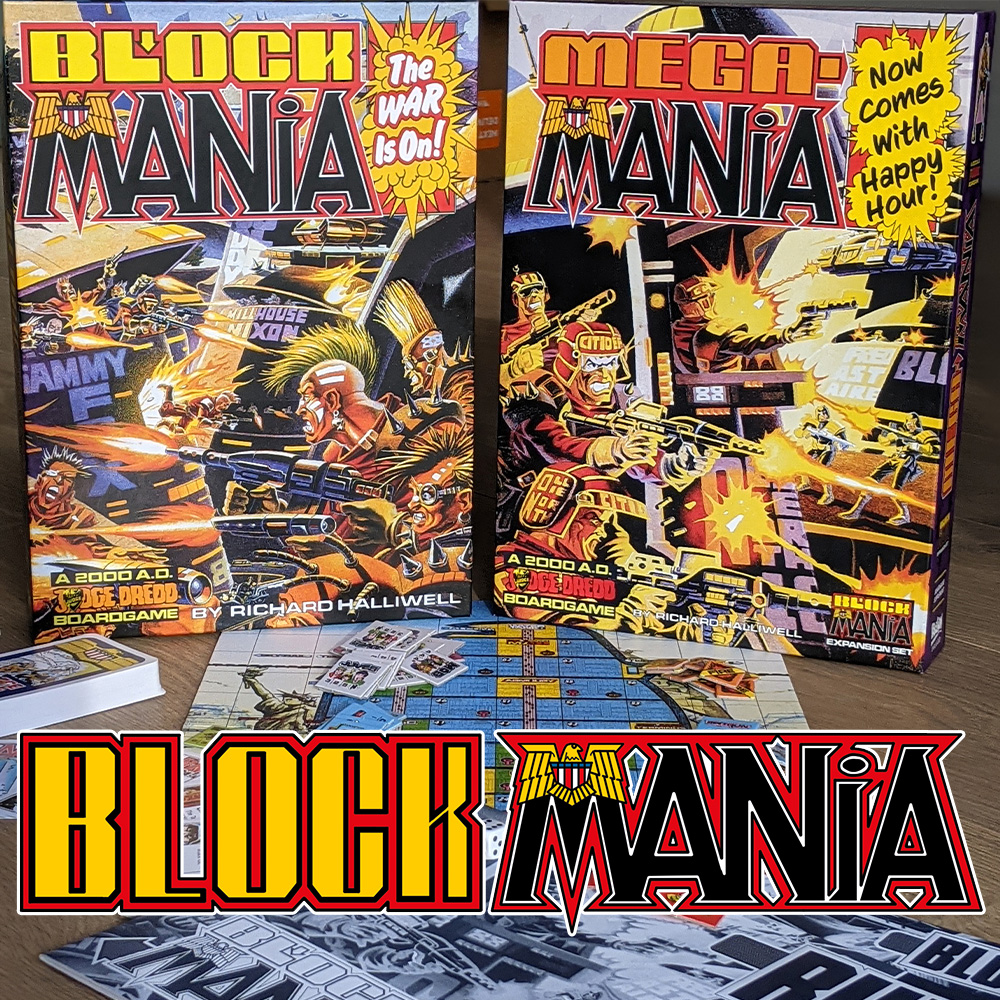 GO CRAZY – THE BLOCK MANIA BOARDGAME IS BACK!