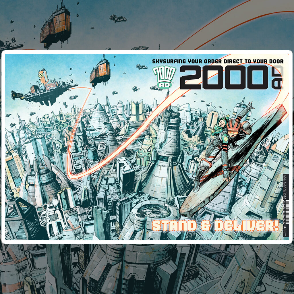 2000 AD Prog 2219 is out now!