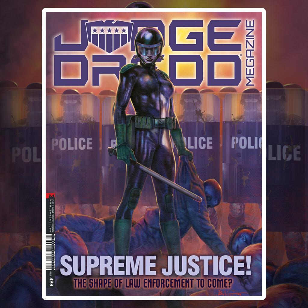 OUT NOW: Judge Dredd Megazine 429
