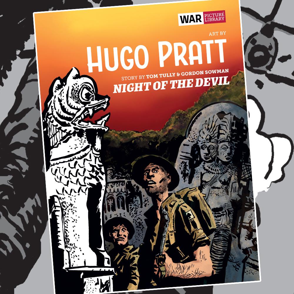 OUT NOW: Hugo Pratt's 'Night of the Devil'