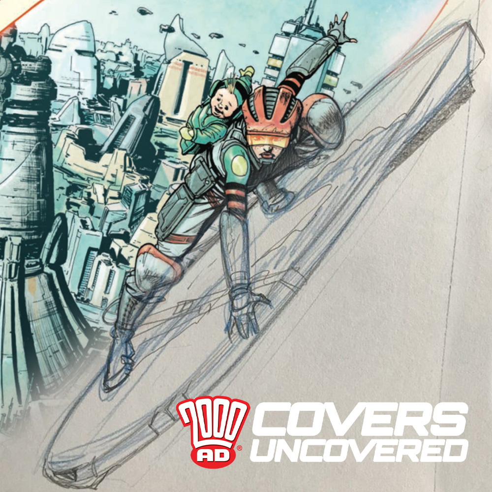 2000 AD Covers Uncovered: Everybody's Gone Surfin', Surfin' MC-1…