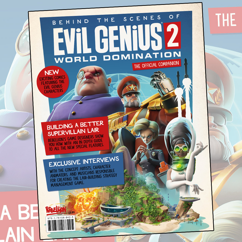 Pre-order the Evil Genius 2: World Domination magazine special now
